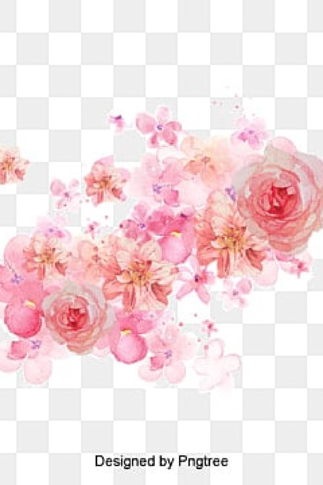98f15fb2fdcc Watercolor Flowers Png Vectors Psd And Clipart For Free