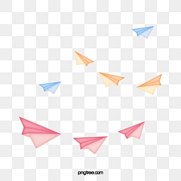 paper airplane png vector