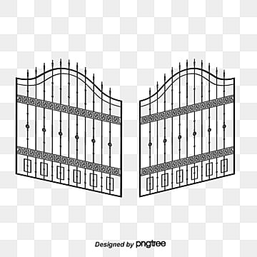 Iron Gate Png, Vector, PSD, and Clipart With Transparent