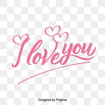 Download I Love You PNG Images | Vector and PSD Files | Free ...
