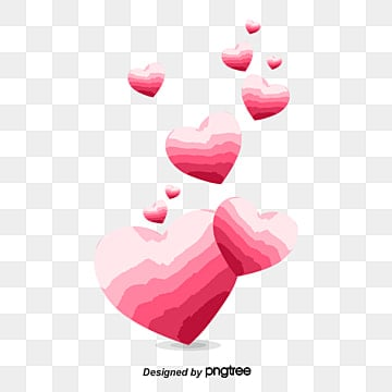 cartoon hearts vector 115