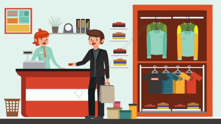 Shopping Vector Cartoon Illustration Shopping Pay The Bill Cartoon Vector Illustration Image on Pngtree Free Download on Pngtree
