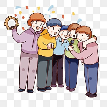 friends gathering png images