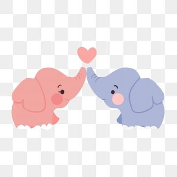 Download Cute Elephant PNG Images   Vector and PSD Files   Free ...