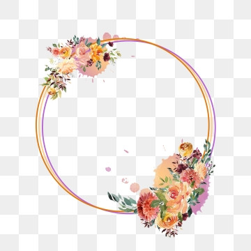 flower circle png images