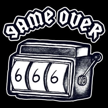 game over png vector
