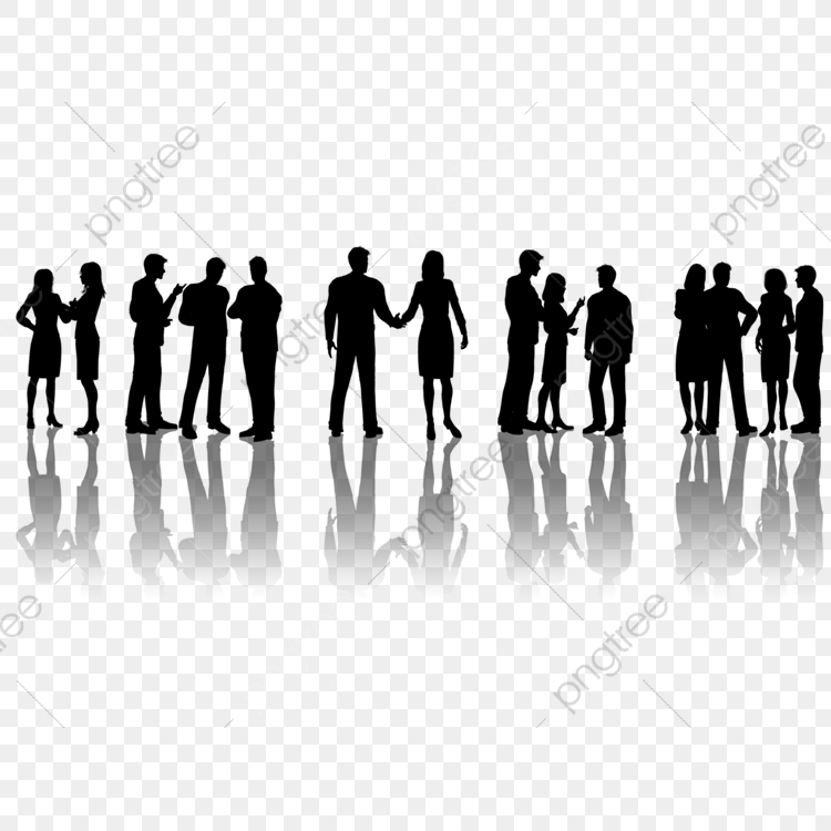 Professional People Silhouettes, People Clipart