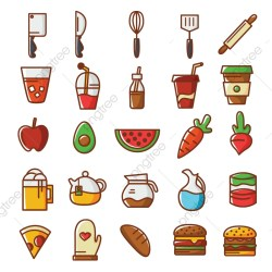 Food Icon PNG Images Vector and PSD Files Free Download on Pngtree