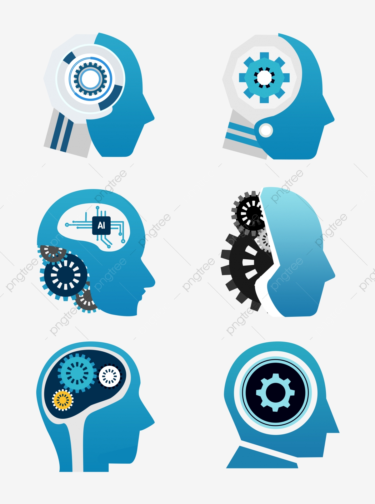 Artificial Intelligence Png : artificial, intelligence, Artificial, Intelligence, Images, Vector, Files, Download, Pngtree
