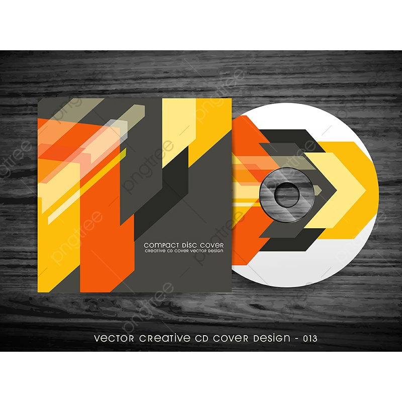 cd cover design abstract