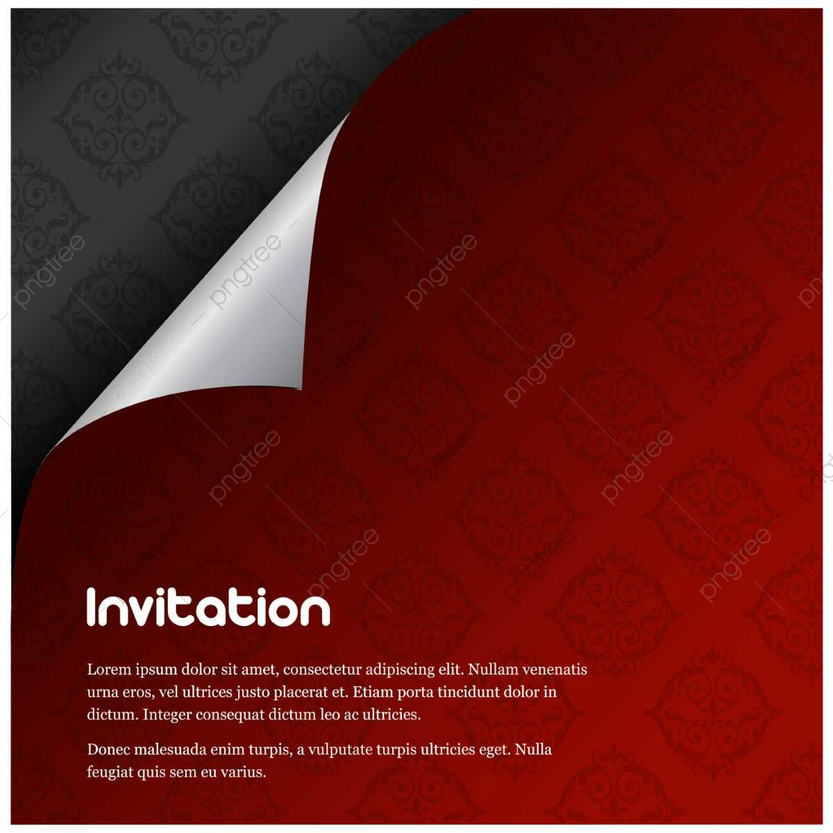 https pngtree com freepng invitation card design with red and black theme 3575033 html