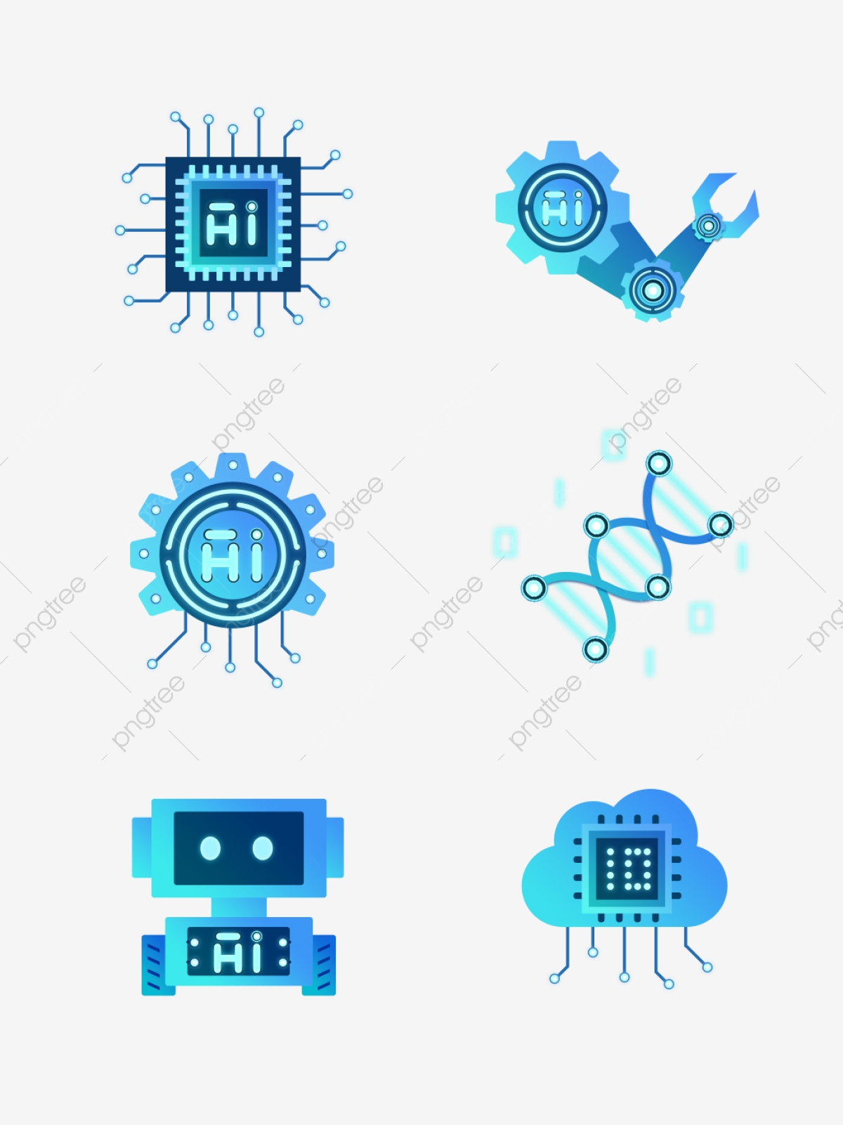 Artificial Intelligence Png : artificial, intelligence, Artificial, Intelligence, Vector,, Clipart, Transparent, Background, Download, Pngtree