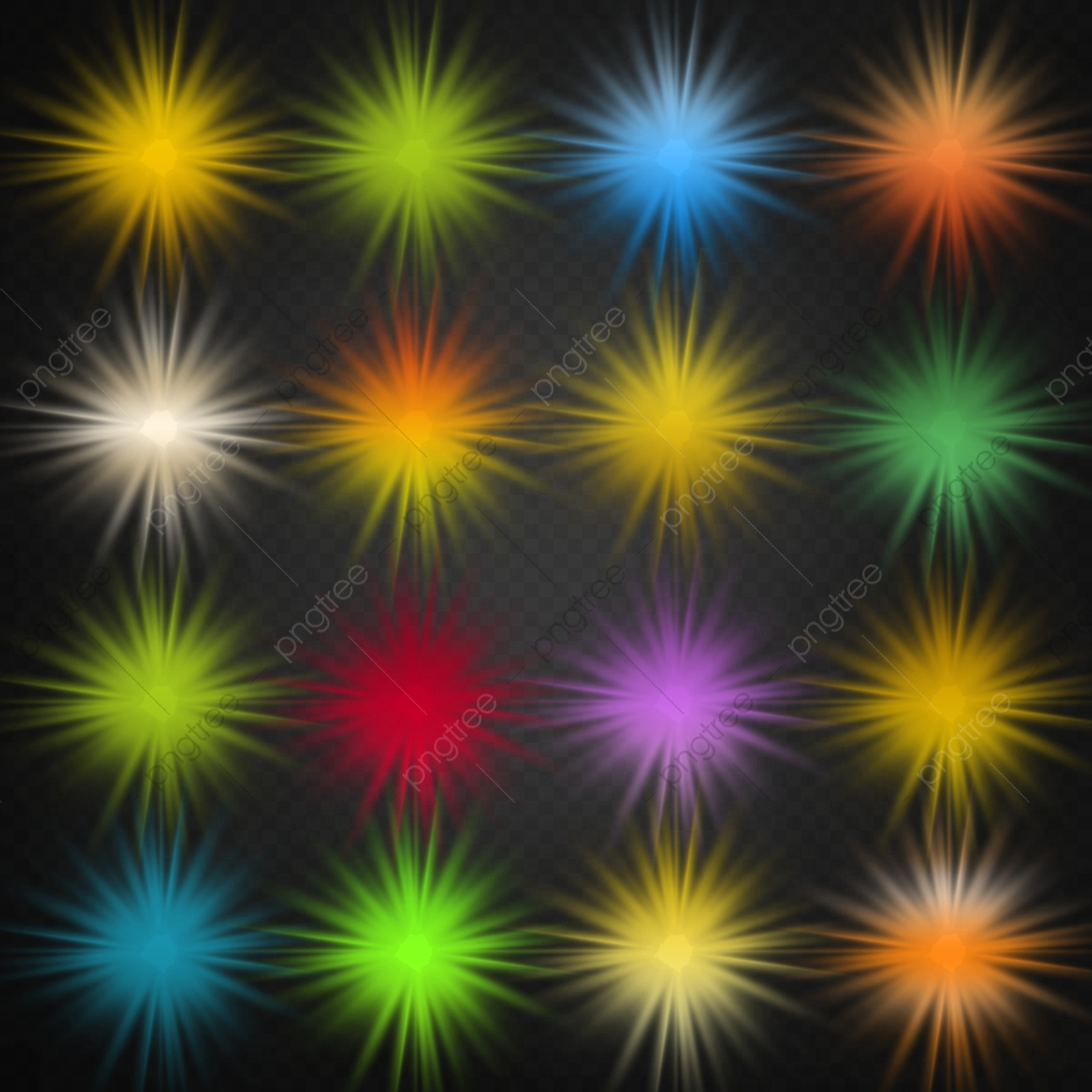 multicolor light effects packs