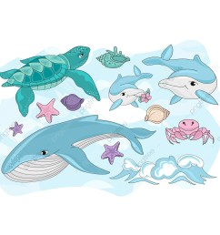 commercial use resource upgrade to premium plan and get license authorization upgradenow sea creatures sea travel clipart  [ 1200 x 1200 Pixel ]