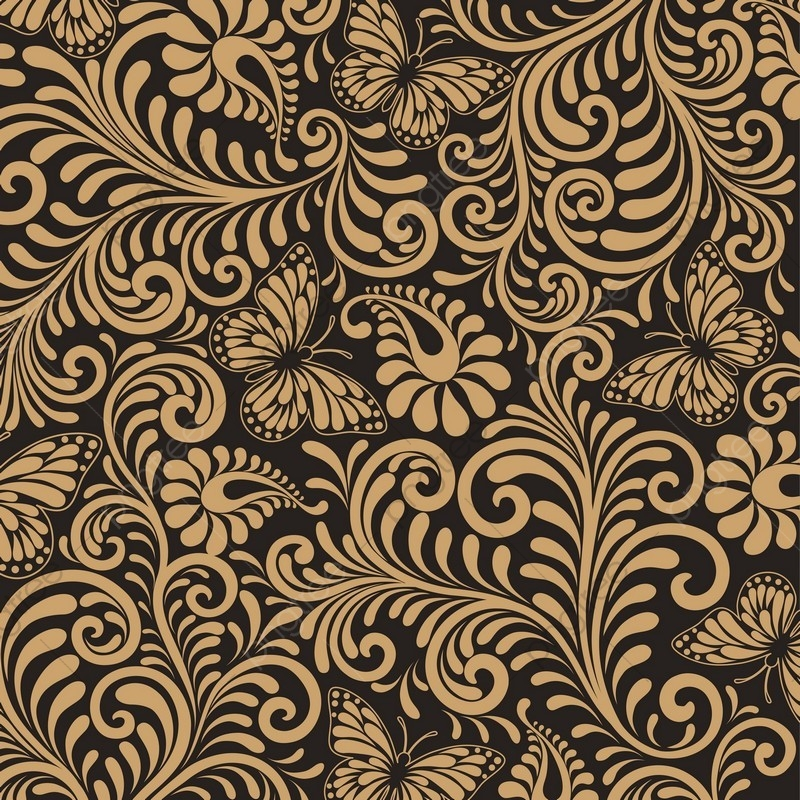 Seamless Floral Pattern Background Luxury Style Background Vector Illustration. Seamless Floral Pattern Background. PNG y Vector para Descargar ...