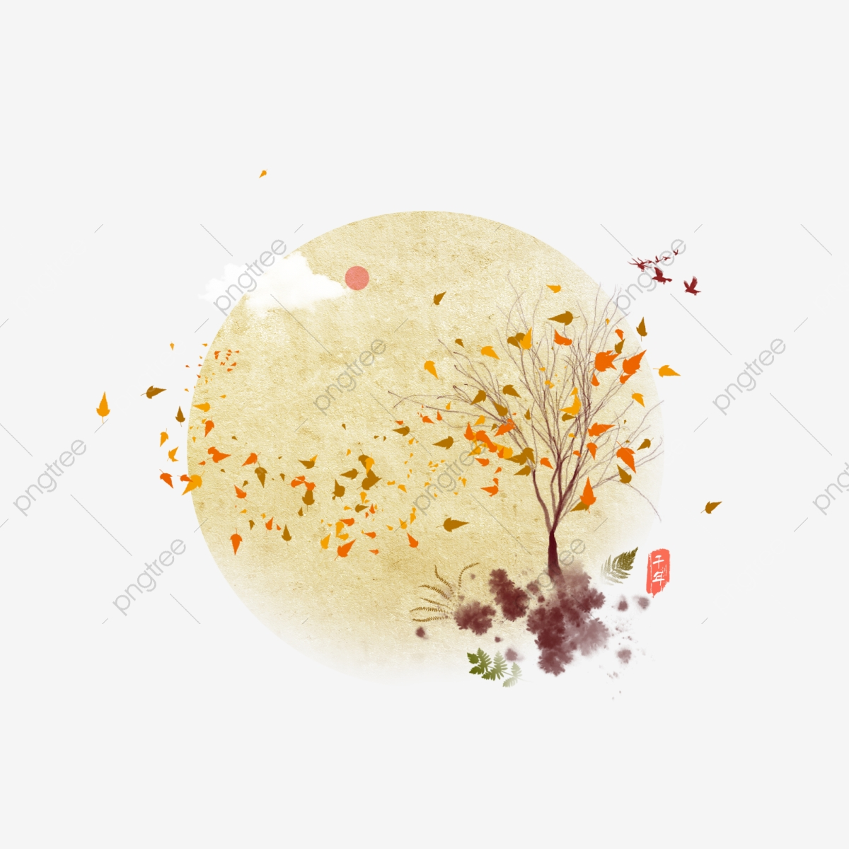 hight resolution of commercial use resource upgrade to premium plan and get license authorization upgrade now autumn tree leaves beautiful romantic illustration background
