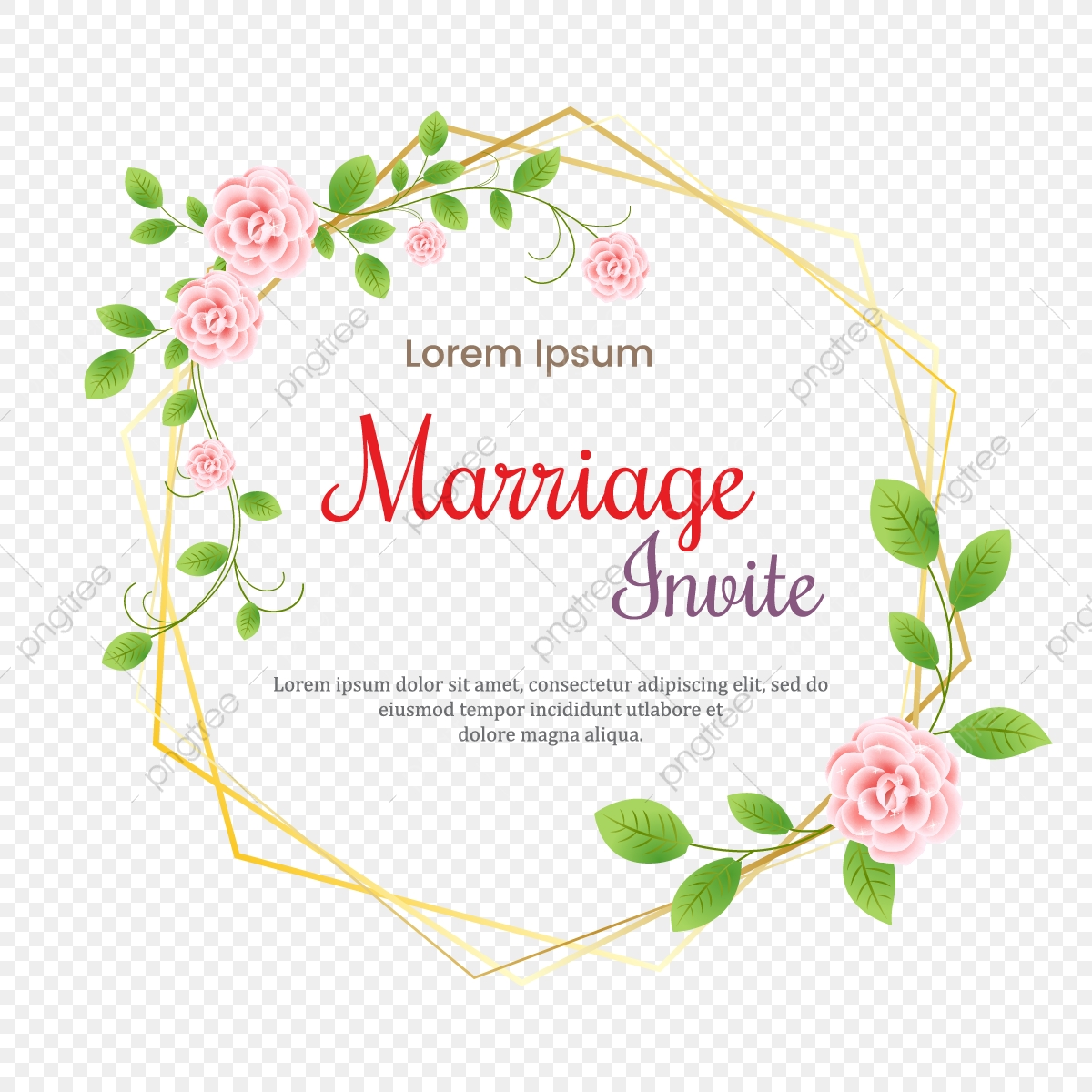 https fr pngtree com freepng decorative greeting card or invitation of flower leaves wedding ornament concept floral poster and invite 3728692 html
