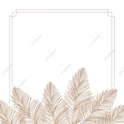 Leaves Border Design Leaves Border Wedding PNG and Vector with Transparent Background for Free Download