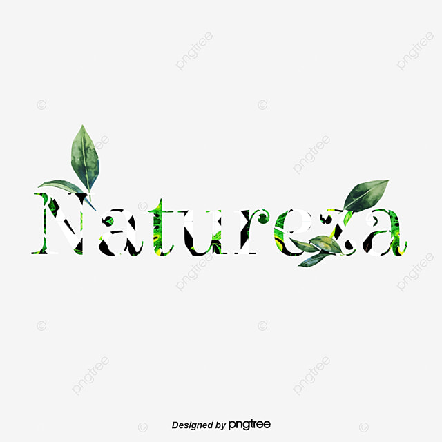 Leaf Letters Of Green Plants Text Effect PSD For Free Download