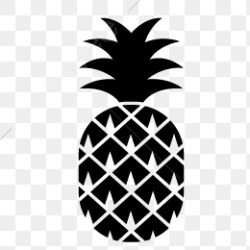 Pineapple Silhouette Pineapple Vector Silhouette Vector Pineapple PNG Transparent Clipart Image and PSD File for Free Download