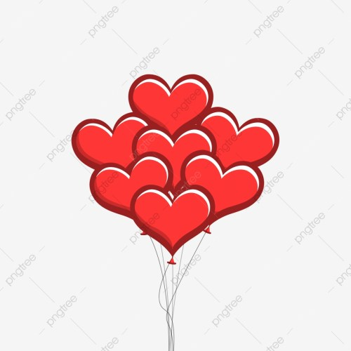 small resolution of heart shaped balloon gratis png y clipart