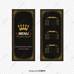 Food Menu PNG Images Vector and PSD Files Free Download on Pngtree