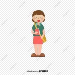 Carrying A Schoolbag For College Students School Bag Cartoon College Students PNG Transparent Clipart Image and PSD File for Free Download