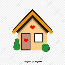 Cartoon House PNG Images Vector and PSD Files Free Download on Pngtree