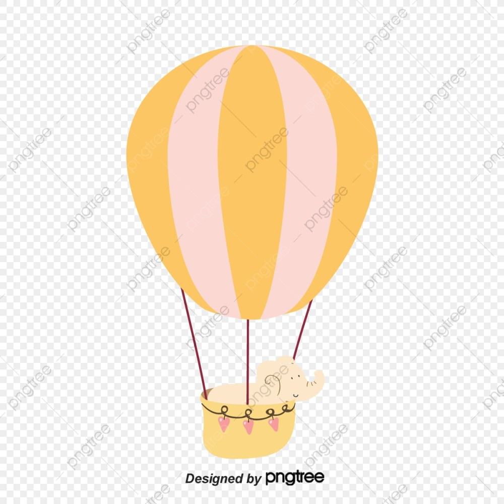 medium resolution of elephant riding and hot air balloon gratis png y psd