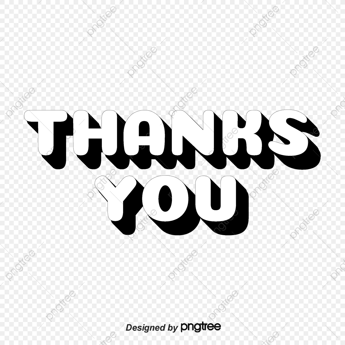 thank you in english