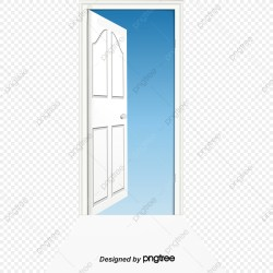 Vector Painted Open Door Vector Hand Painted Open Doors PNG Transparent Clipart Image and PSD File for Free Download