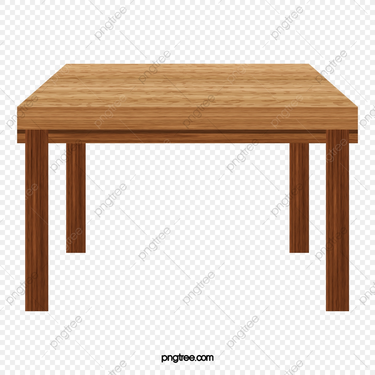 Vector Yellow Rectangular Table Wooden. Vector Table. Yellow Table. Rectangular Table PNG and Vector with Transparent Background for Free Download