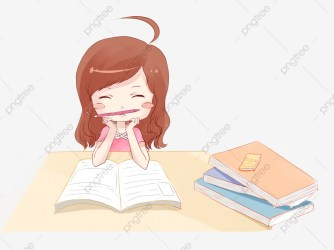 Girl Reading Book Cute Girl Girl Studying Reading Girl Selling Cute Learning Girl Pouting Girl Writing Homework Girl Reading Book PNG Transparent Clipart Image and PSD File for Free Download