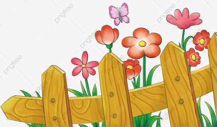 Summer Garden Gardening Flower Flowers Plant Fence PNG Transparent Clipart Image and PSD File for Free Download