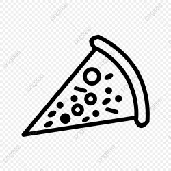 Vector Pizza Icon Pizza Icons Cheese Meal PNG and Vector with Transparent Background for Free Download