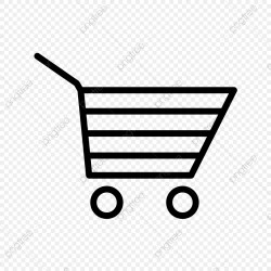 Transparent Background Shopping Cart Icon Png