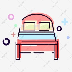 Mbe Style Daily Necessities Pink Bed Cartoon Cute Commercial Mbe Daily Necessities Pink PNG Transparent Clipart Image and PSD File for Free Download