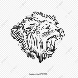 Lion Clipart In White Sketch Lion King Lion King Clipart Clipart Clip Art PNG Transparent Clipart Image and PSD File for Free Download