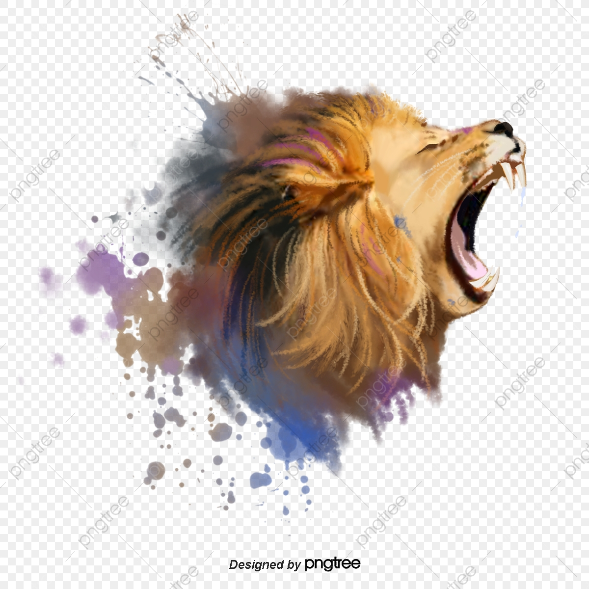 Lion Png Images Vector And Psd Files Free Download On Pngtree
