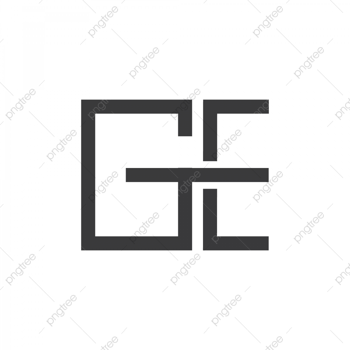 vector letter g and