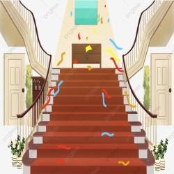 cartoon stairs stair guard clipart railing psd carpet pngtree handrail upgrade authorization license resource commercial plan premium use