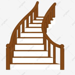 stairs cartoon staircase clipart extended upgrade transparent psd authorization license resource commercial plan premium use pngio pngtree