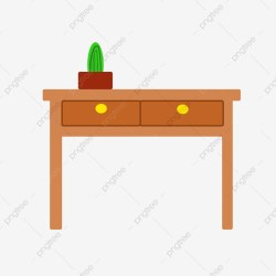 Desk Cartoon PNG Images Vector and PSD Files Free Download on Pngtree