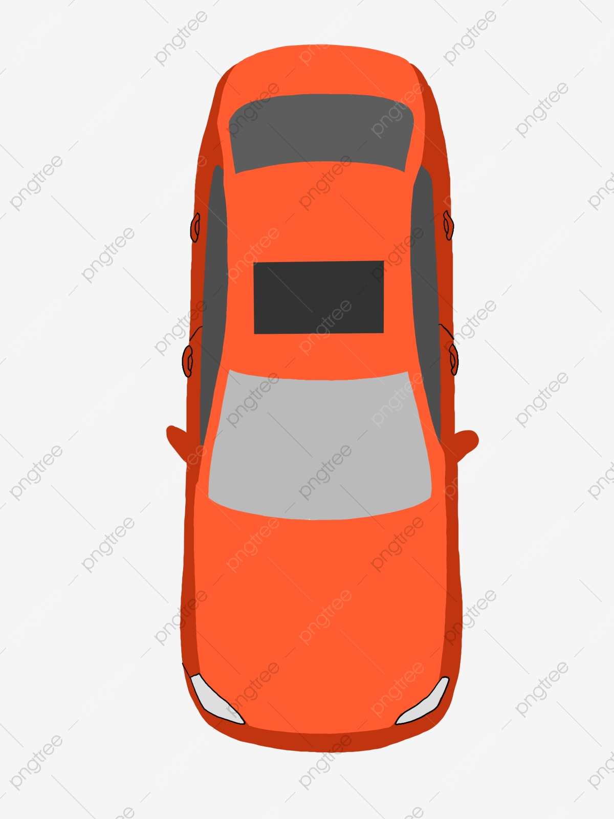 Car Cartoon Png : cartoon, Cartoon, Illustration,, Transport, Transparent, Clipart, Image, Download