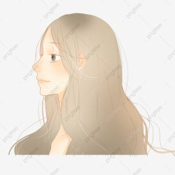 Cartoon Girl With Brown Hair Girl Cartoon Brown Hair Free Girl PNG Transparent Clipart Image and PSD File for Free Download