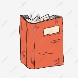 Standing Open Book Png