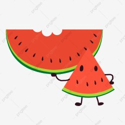 Watermelon Watermelon Slice Cute Fruit Simple Summer Cool Watermelon Watermelon Slice Cute PNG Transparent Clipart Image and PSD File for Free Download