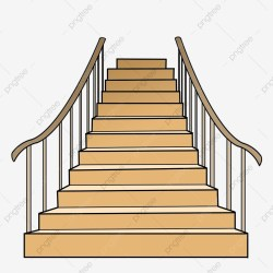 stairs cartoon wooden illustration clipart steps transparent psd yellow file upgrade authorization license resource premium commercial plan pngtree