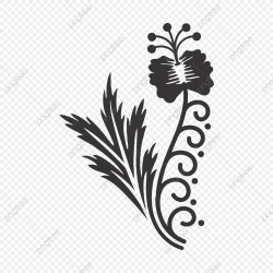 Vector Flower Design Wedding Vector Black And White Flower Flower PNG Transparent Image and Clipart for Free Download