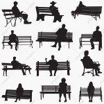 Park Bench Silhouette Background Bench Break Png And Vector With Transparent Background For Free Download